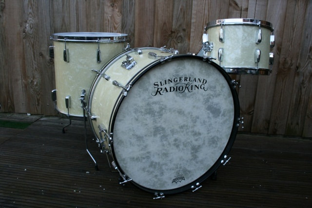 Slingerland 'Cloud Badge' Radio King