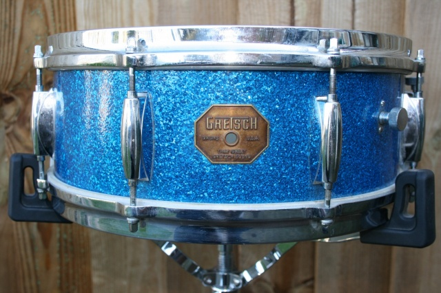 Gretsch 4103 'Stop Sign' Badge 1970's 14x5