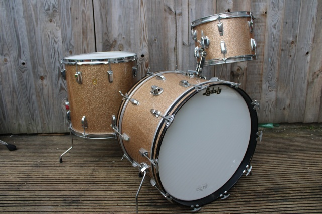 Ludwig 'Feb 1968' Keystone Super Classic Outfit In Champagne Sparkle
