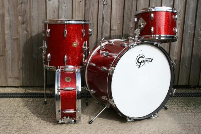 Gretsch Mid '60's Round Badge  Progressive Jazz