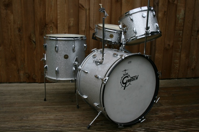 Gretsch Mid '60's Round Badge 'Progressive Jazz' Outfit with Max Roach Snare