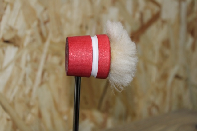 Lowboy Beaters Lightweight Puff Daddy Red with White Stripe