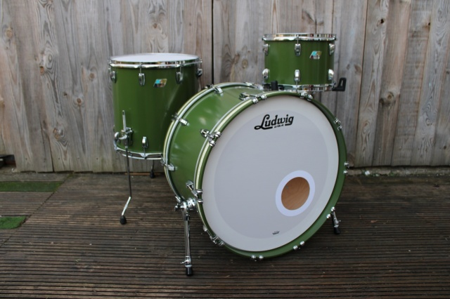 Ludwig 2019 Classic Maple in Heritage Green