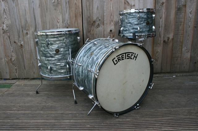 Gretsch Late '50's Round Badge 'Name band' Outfit in Midnight Blue Pearl