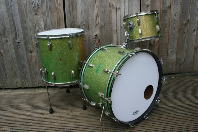 WFL 'May28 1957' 'Buddy Rich' Super Classic Outfit in Sparkling Green Pearl