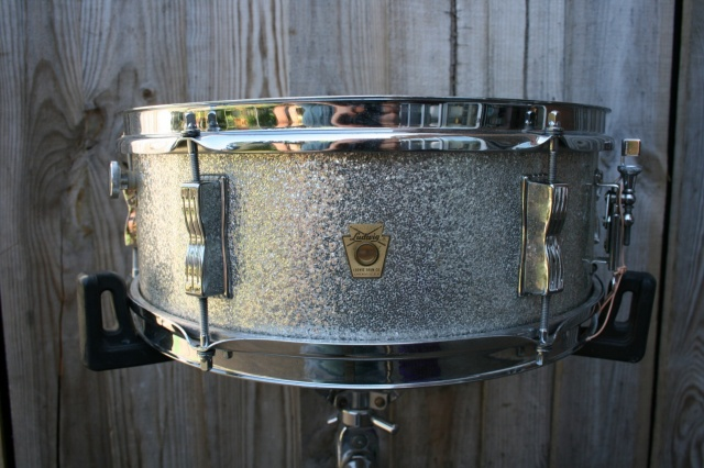 Ludwig 'May15 1968' Pioneer in Silver Sparkle