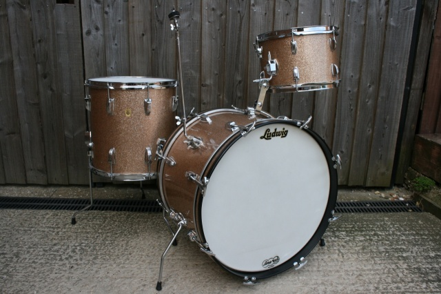 Ludwig 1966 Down Beat Outfit