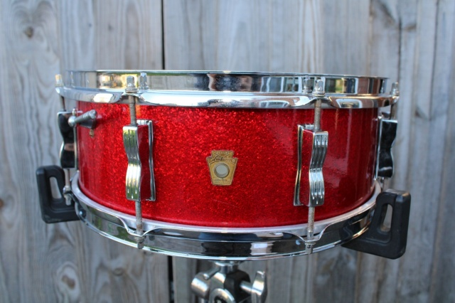 Ludwig 'Sep 2 1965 Jazz Festival in Red Sparkle