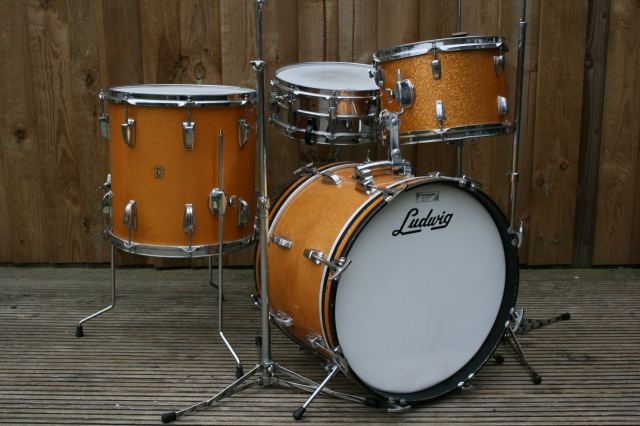 Ludwig 1967 'Jazzette' Outfit with Hardware