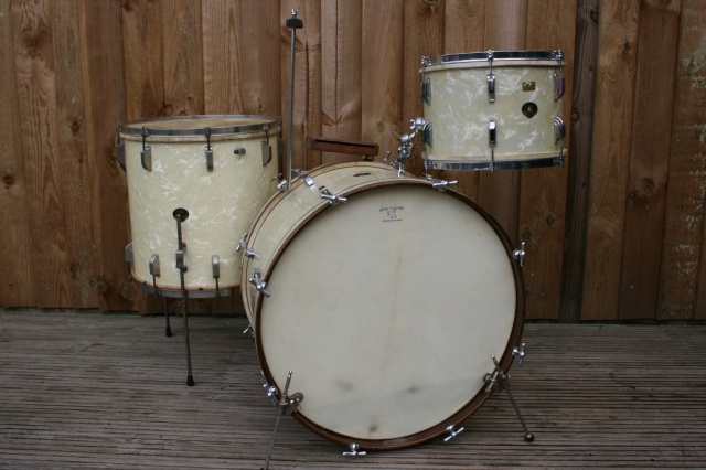 Leedy&Ludwig 1951 Super Classic Outfit