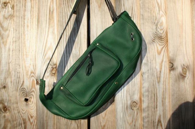 CacSac Gig Bags 'Emerald Green' Stick Bag