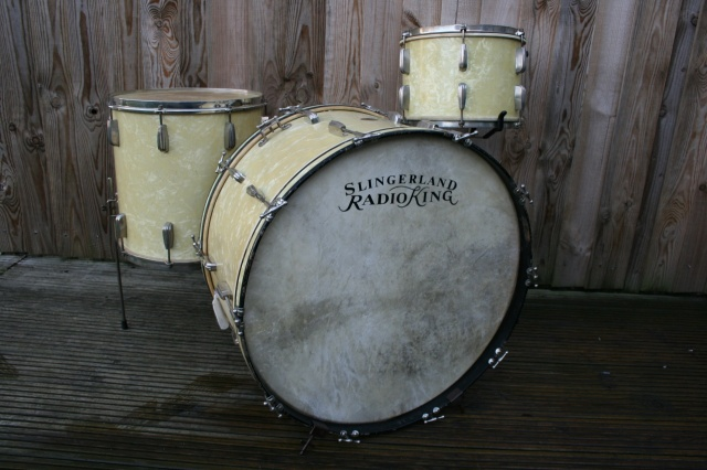Slingerland 'Cloud Badge' Radio King Outfit