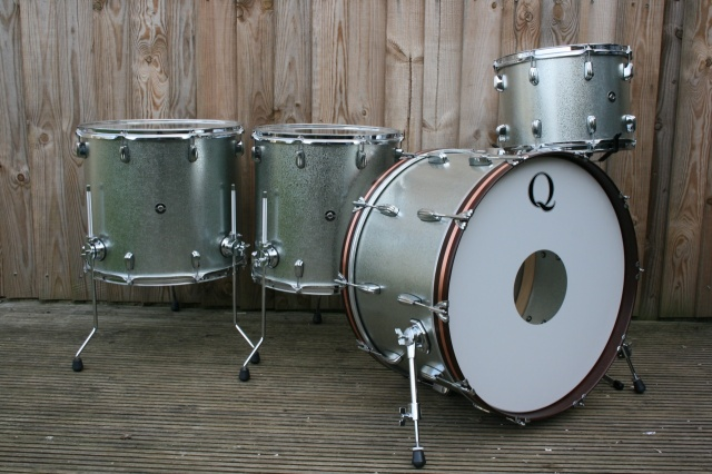 Q Drum Co 'Galvanised Steel Kit
