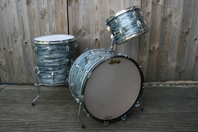 Ludwig Pre-Serial 'Apr27, 1961' Super Classic Outfit