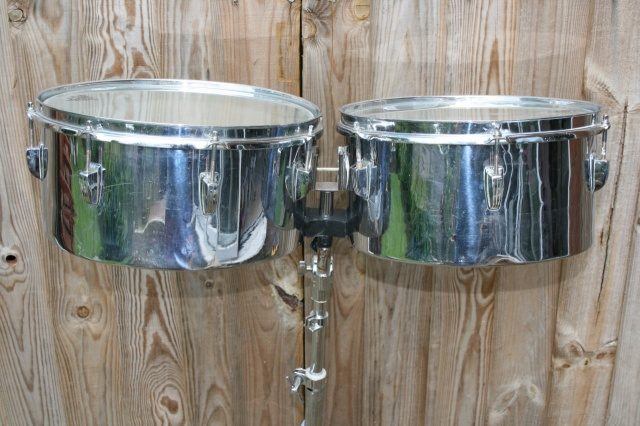Ludwig 1964 Timbales 13''&14''