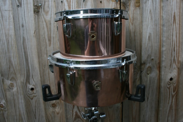 WFL Late 1940's  Timbales 10'' & 13''