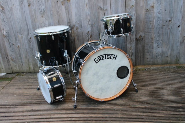 Gretsch 2016 Broakaster Outfit in Anniversary Sparkle