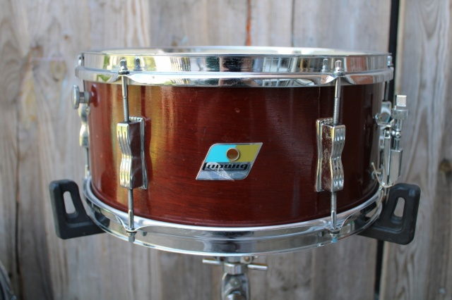 Ludwig 1970 Pioneer 6.5 in Thermo Mahogany