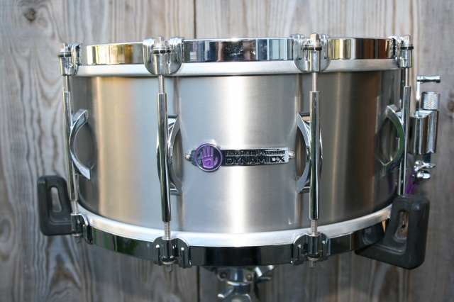 Black Swamp Percussion Dynamicx 'Sterling' Series Titanium 14x6.5