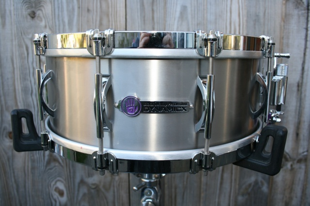 Black Swamp Percussion Dynamicx 'Sterling' Series Titanium 14x5.5