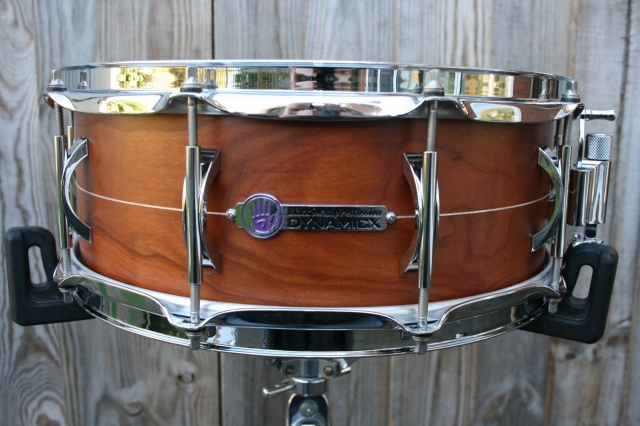Black Swamp Percussion Dynamicx 'Live' Series Cherry UniBody 14x5.5