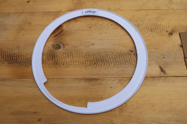 RootsEQ 13'' Snare O Ring in White