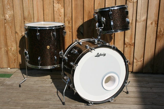Ludwig Pre Serial' Galaxy Sparkle Super Beat