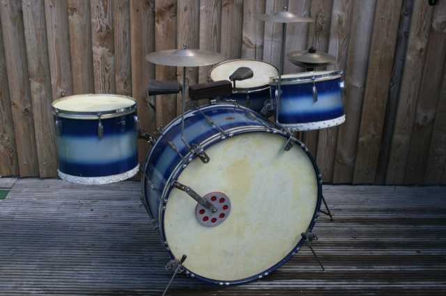 Slingerland 1940 Radio King Outfit with Hardware & Cymbals