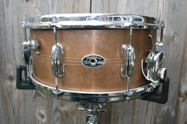 Slingerland 70's Sound King 6.5 Copper over Brass