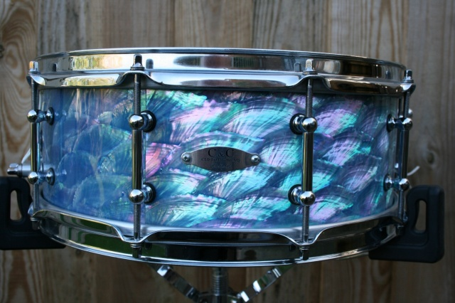 *Used* C&C Custom 'Angel Wing' Abalone