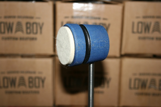 Low Boy Beaters Light Weight 'Felt Daddy' Custom Blue w/Black Stripe