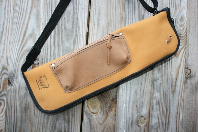 CacSac Gig Bags Streamline Stick Bag Two Tone Tan and Fawn NuBuck