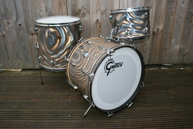 Gretsch '60's Round Badge 'BeBop' Outfit in Moonglow
