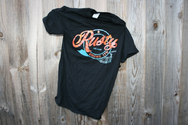 Rusty Drums Logo Classic T-Shirt