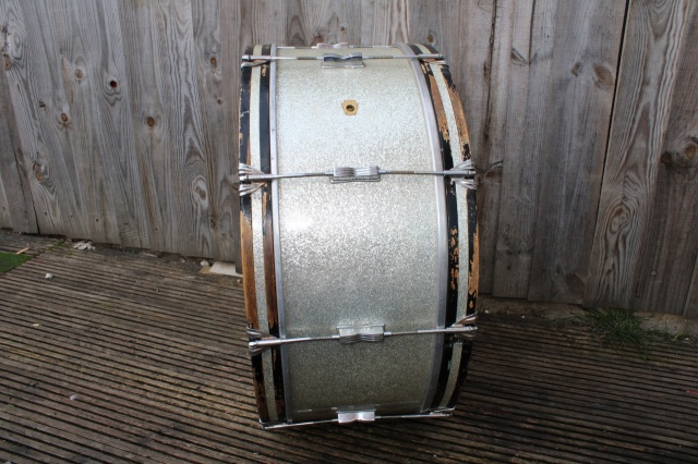 Ludwig 1967 28x12 in Silver Sparkle