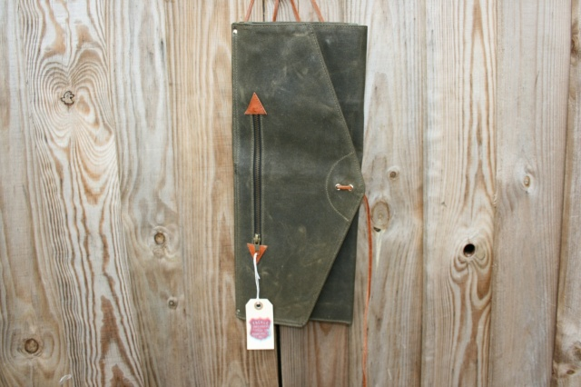 Tackle Instrument Supply Co Waxed Canvas 'Roll Up' Stick Bag