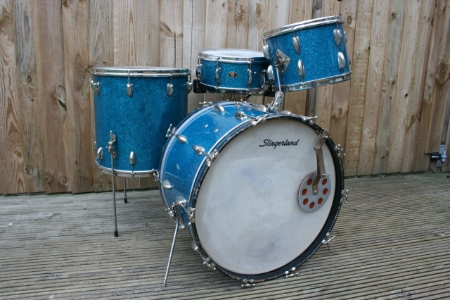 Slingerland Gene Krupa Deluxe with Clam Shell Radio King