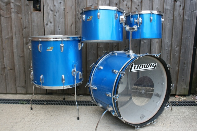 Ludwig 70's 'Melodic Tom' Outfit