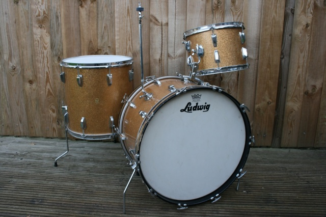 Ludwig 1963 Pre Serial Super Classic in Champagne Sparkle