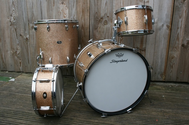 Slingerland 1966 'Stage Band' and Snare Outfit