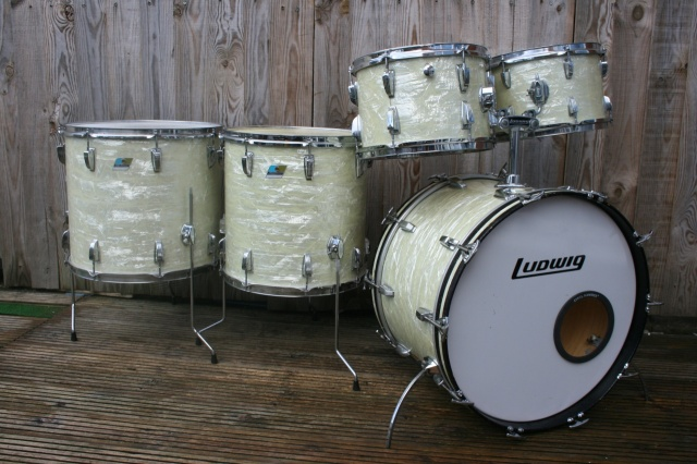Ludwig 1970 -71 Big Beat Outfit