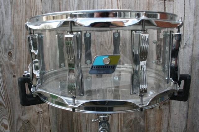 Ludwig Re-Issue Vistalite Clear 14x6.5