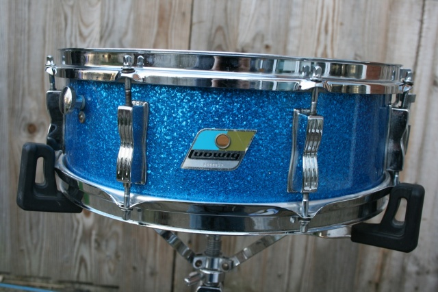 Ludwig 1976 Jazz Festival in Blue Sparkle