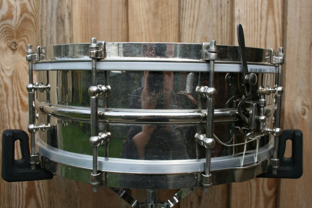 Ludwig 1920 Nickel over Brass 14x5 10-Lug