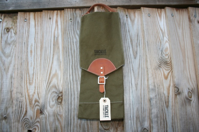 Tackle Instrument Supply Co Canvas Compact Stick Bag in Green