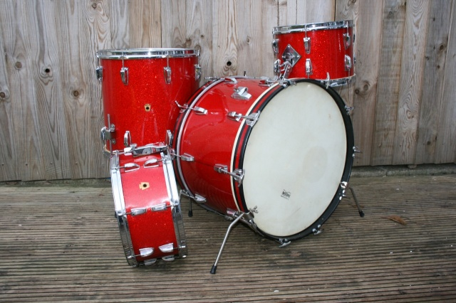 WFL 'Buddy Rich' Super Classic Outfit with Snare