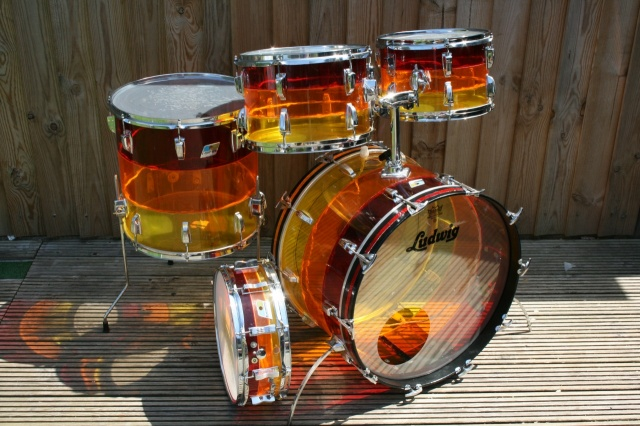 Ludwig Mid '70's 'Tivoli' Big Beat in Tequila