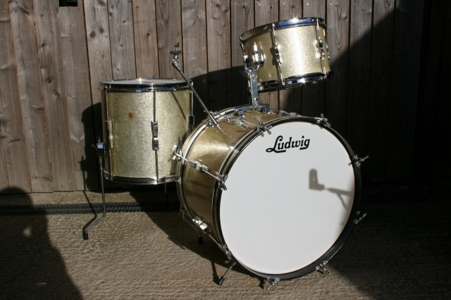 Ludwig 1966 Clubdate in Silver Sparkle