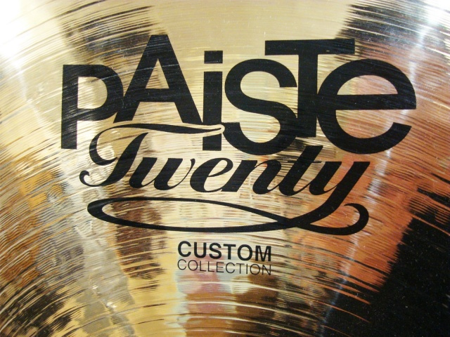 *Used* Paiste Twenty Custom Collection Thin Splash 10''