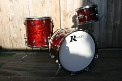 Rogers Holiday 'Buddy Rich' Headliner Outfit in Red Onyx Pearl